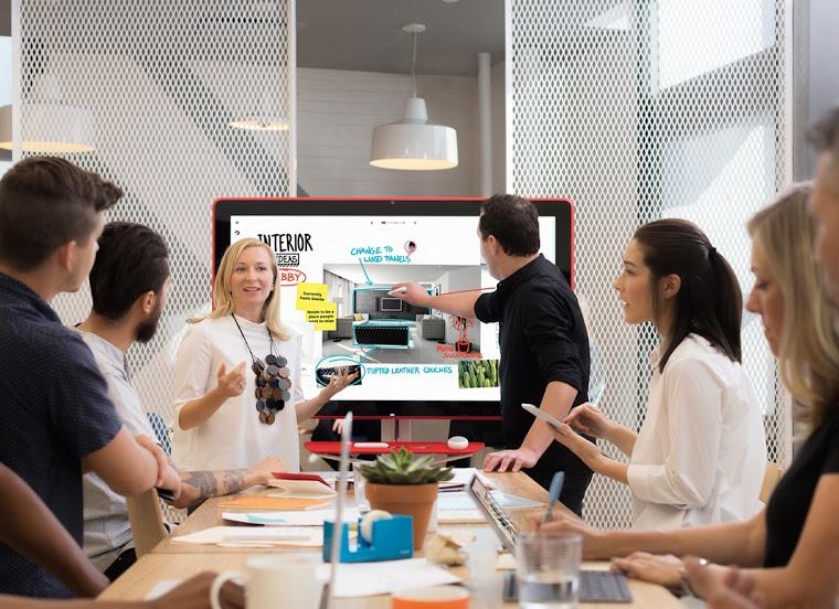 Googleがデジタルホワイトボード「Jamboard」を発売!どこからでも共同作業が可能