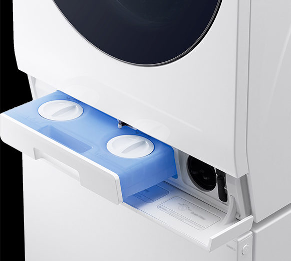 「LG DUALWash」の洗剤・柔軟剤自動投入機能