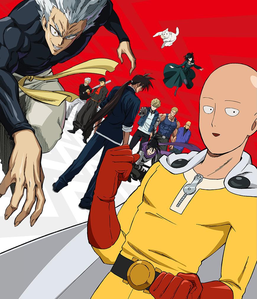 TVアニメ『ワンパンマン』第2期が4月2日から放送開始!キービジュアルも公開