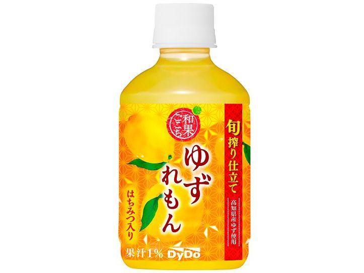 柑橘系果実の香りと酸味を楽しめる「和果ごこち ゆずれもん」が新登場!